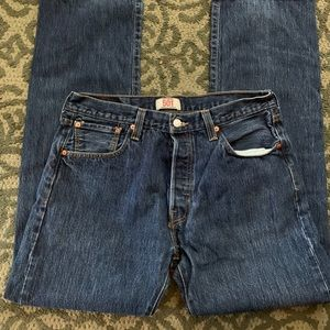Levi's 501's Size 34/34 Button Fly